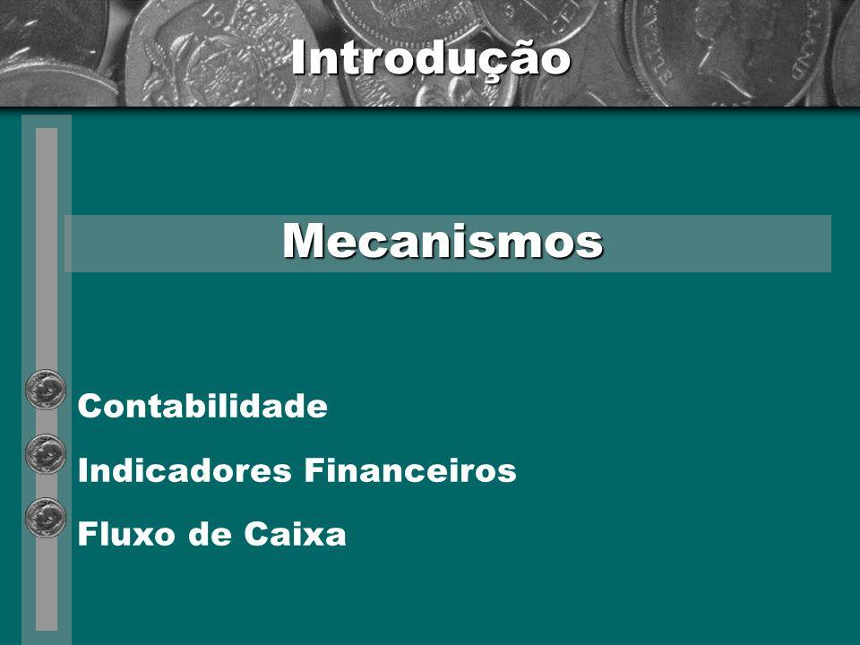 Introdução Mecanismos Contabilidade Indicadores Financeiros