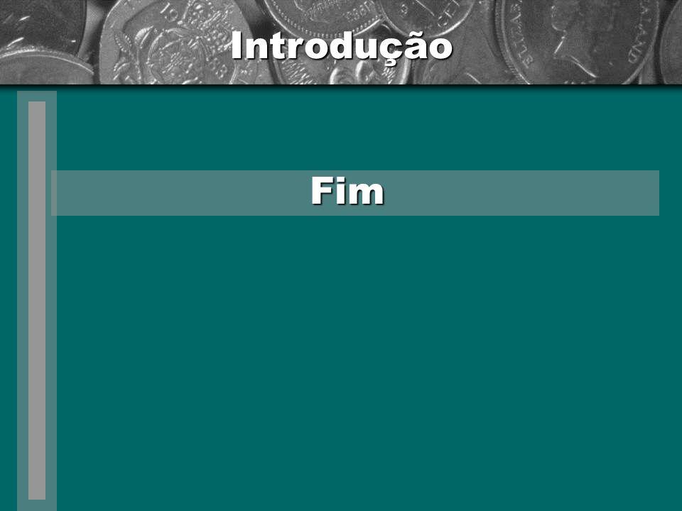 Introdução Fim Levantamento – teoria e prática MPE - baixo controle