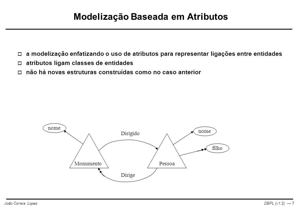 Modelização Baseada em Atributos