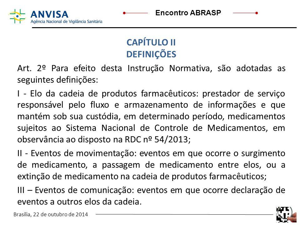 CAPÍTULO II DEFINIÇÕES