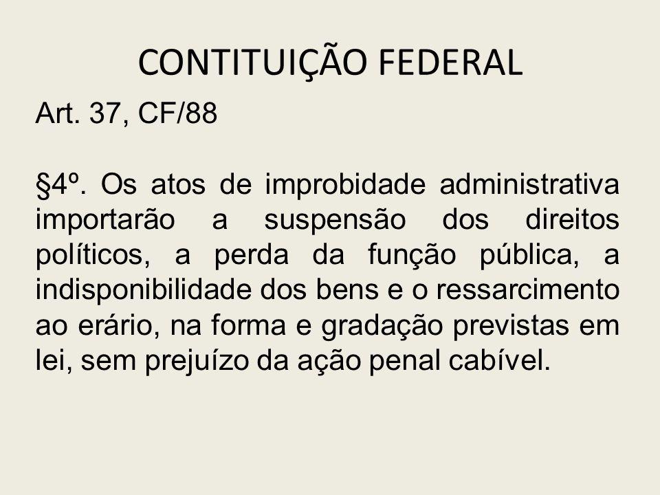 CONTITUIÇÃO FEDERAL Art. 37, CF/88