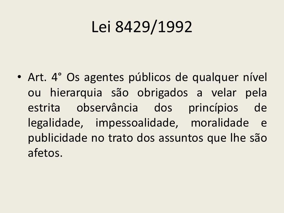 Lei 8429/1992