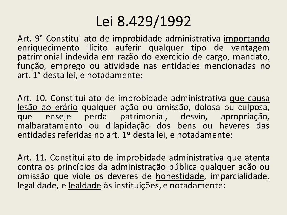 Lei 8.429/1992