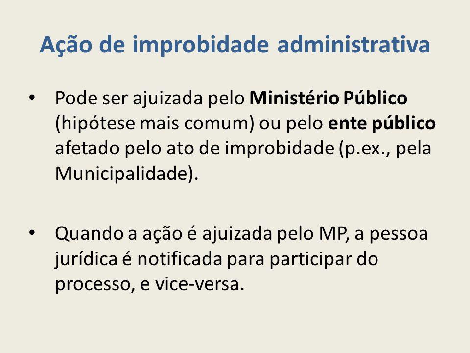 Ação de improbidade administrativa