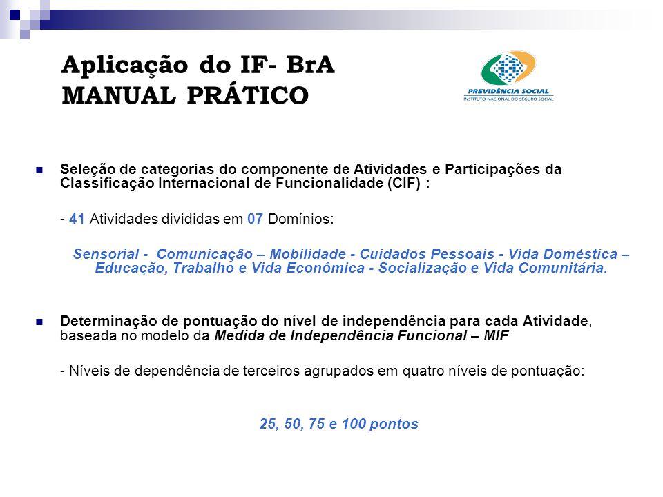 Aplicação do IF- BrA MANUAL PRÁTICO
