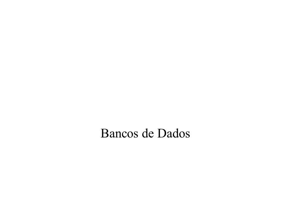 Bancos de Dados