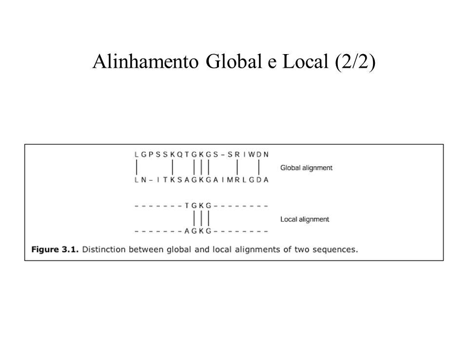 Alinhamento Global e Local (2/2)