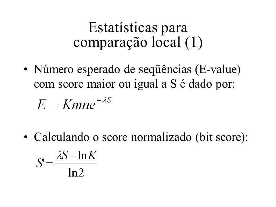 Estatísticas para comparação local (1)