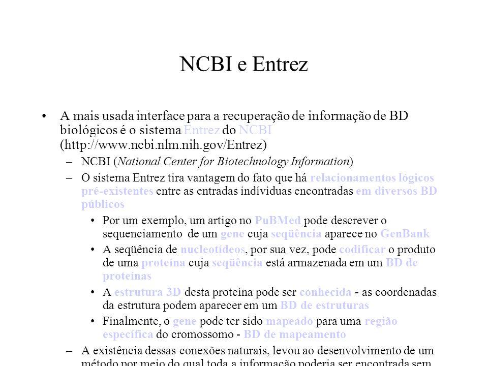 NCBI e Entrez