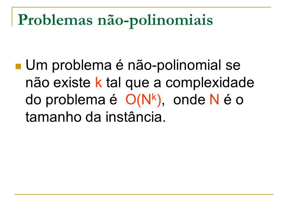 Problemas não-polinomiais
