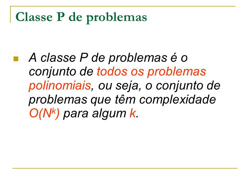 Classe P de problemas