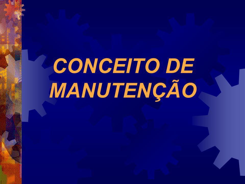 CONCEITO DE MANUTENÇÃO