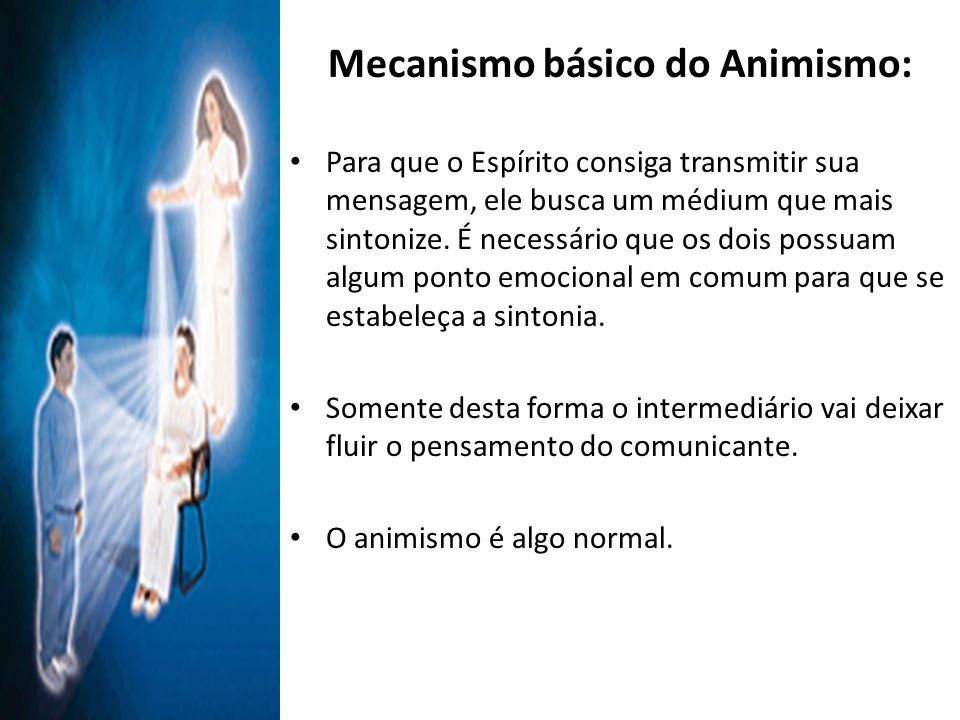Mecanismo básico do Animismo: