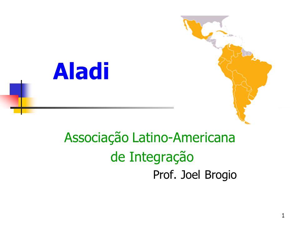 Associação Latino-Americana de Integração Prof. Joel Brogio