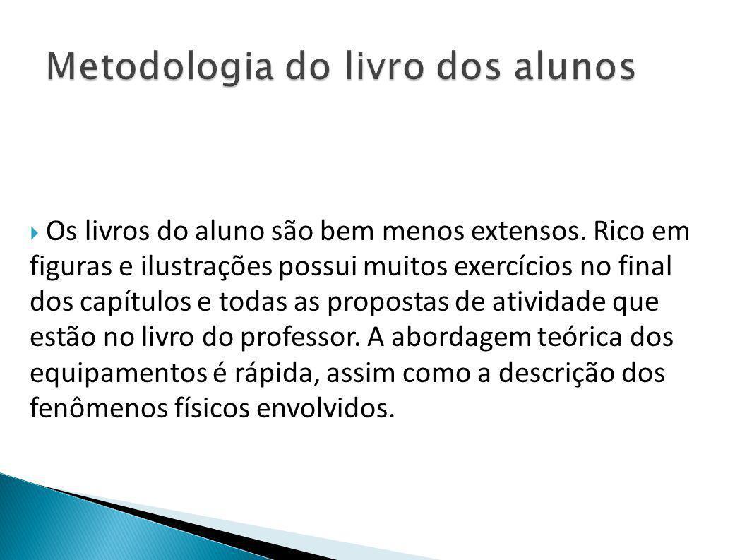 Metodologia do livro dos alunos
