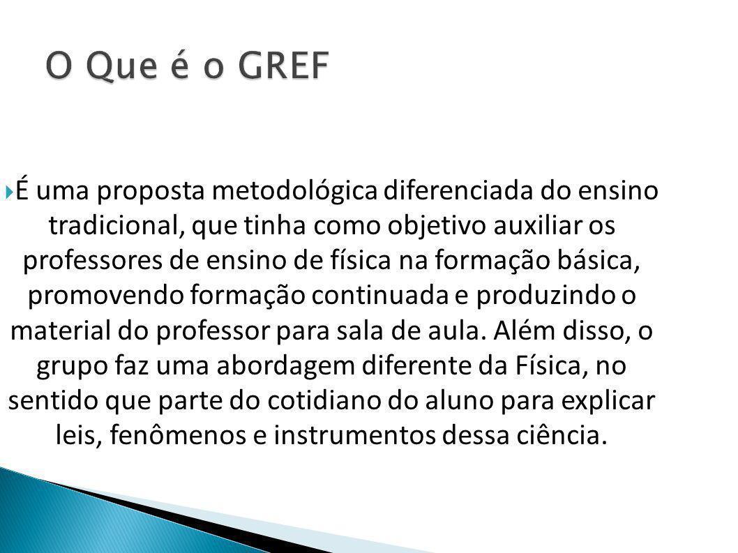 O Que é o GREF