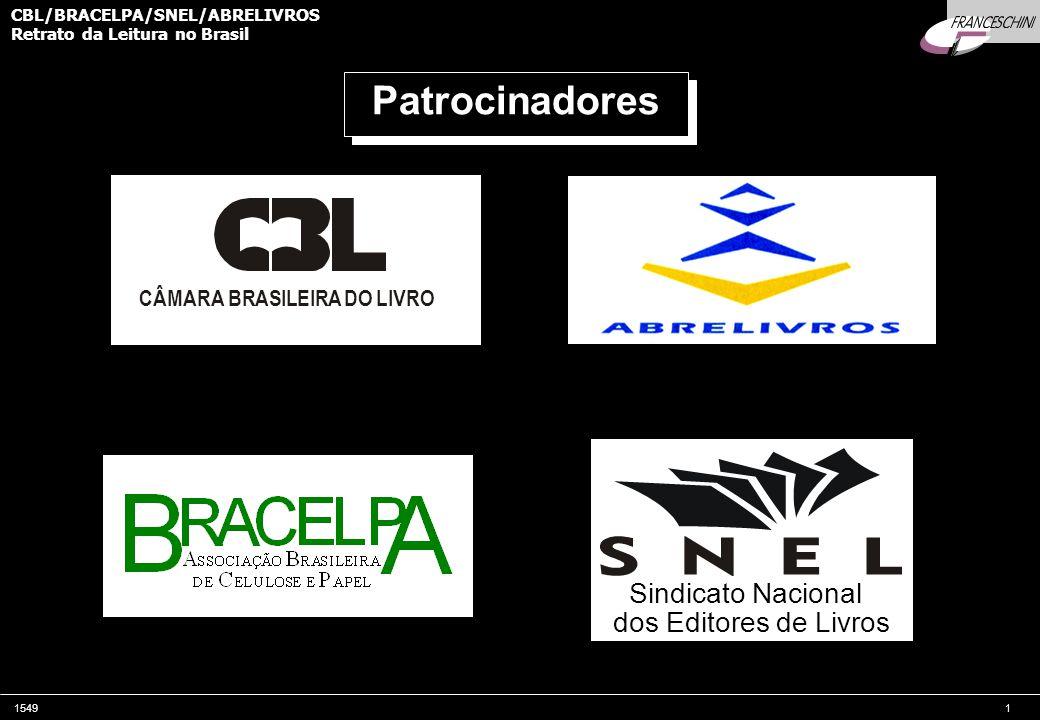 Patrocinadores Sindicato Nacional dos Editores de Livros