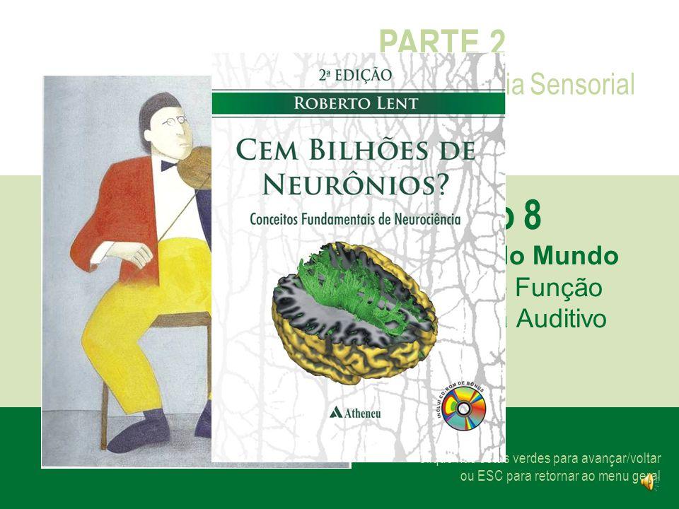 Capítulo 8 PARTE 2 Neurociência Sensorial Os Sons do Mundo