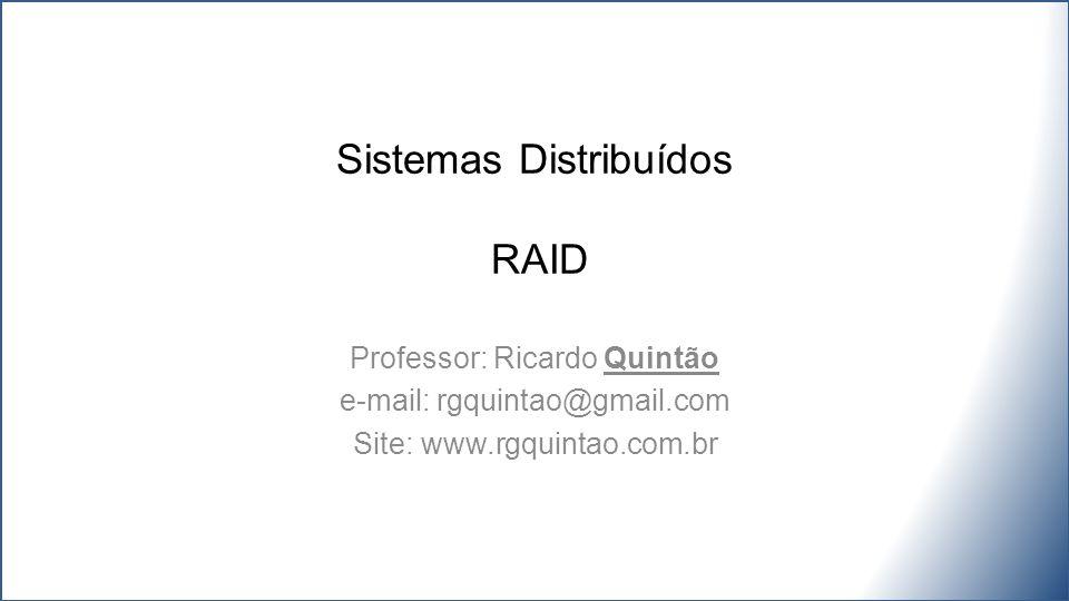Sistemas Distribuídos RAID