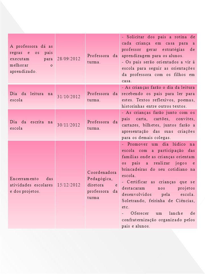 Dia da leitura na escola 31/10/2012