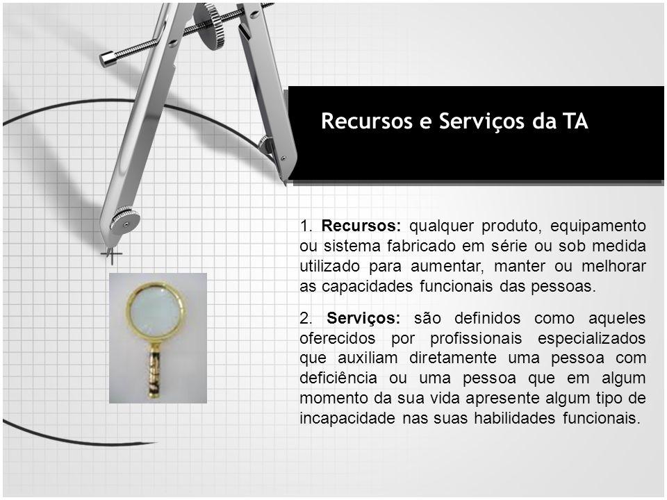 Recursos e Serviços da TA