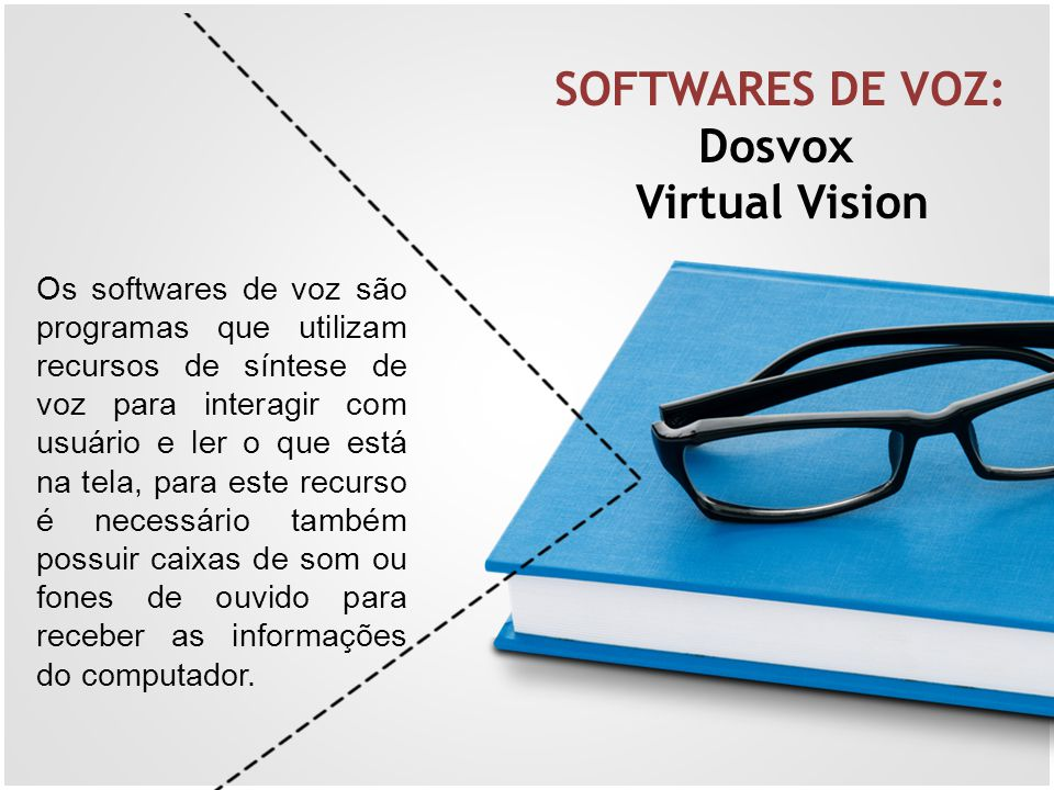 SOFTWARES DE VOZ: Dosvox Virtual Vision