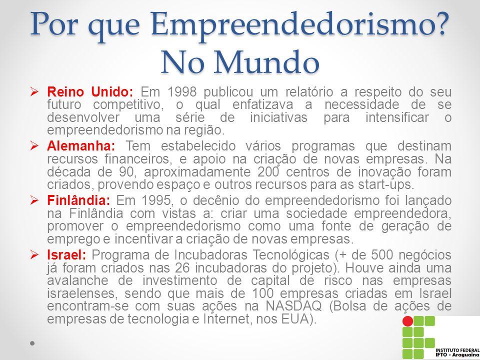 Por que Empreendedorismo No Mundo