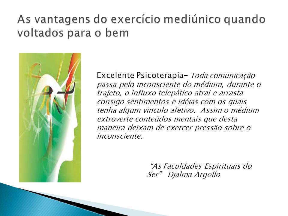 As vantagens do exercício mediúnico quando voltados para o bem