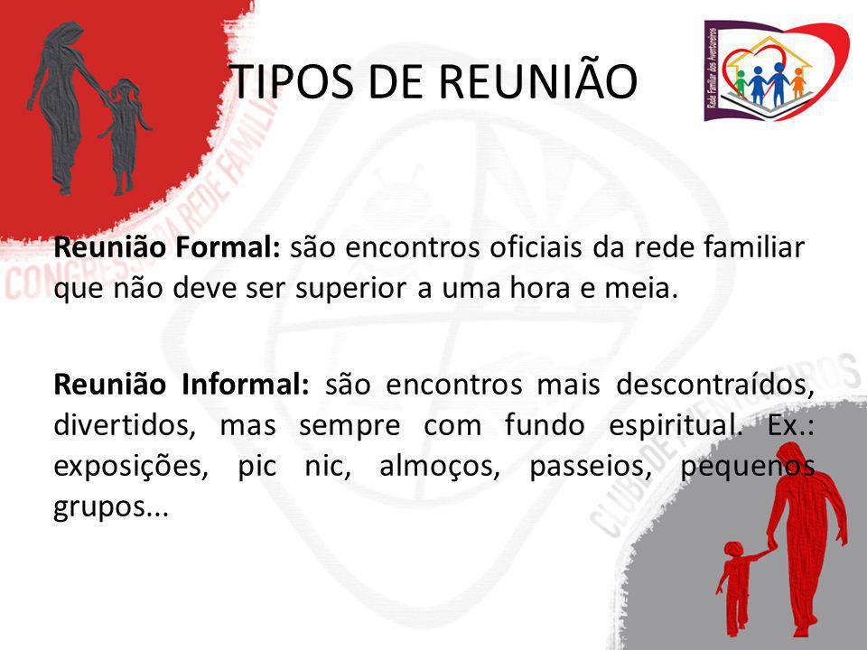 TIPOS DE REUNIÃO