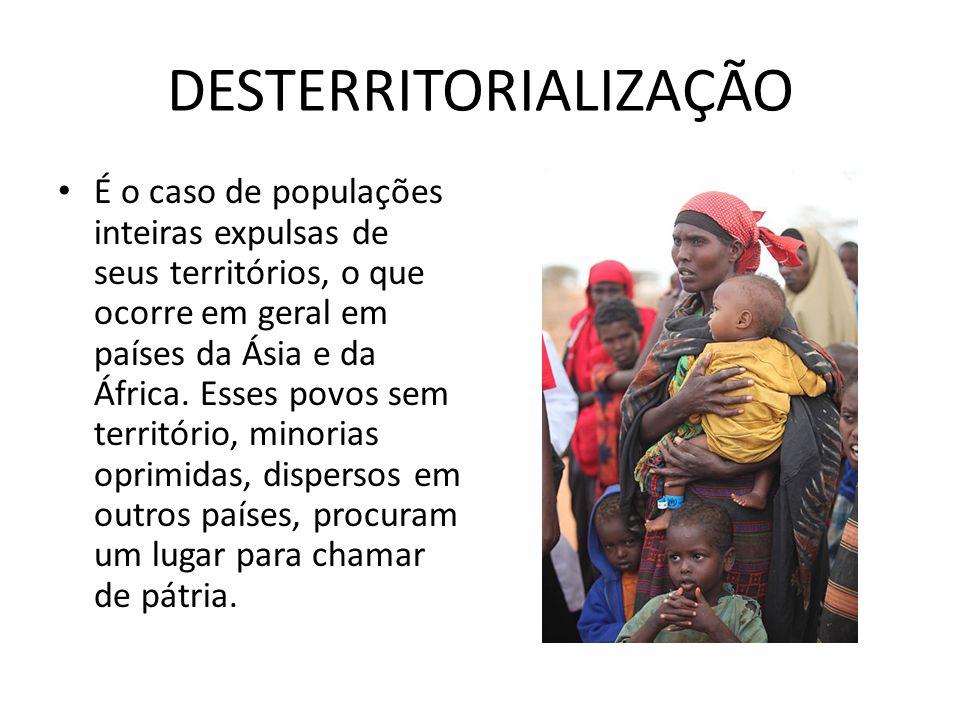 DESTERRITORIALIZAÇÃO