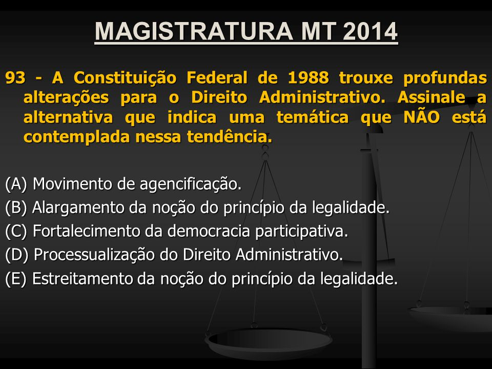 MAGISTRATURA MT 2014
