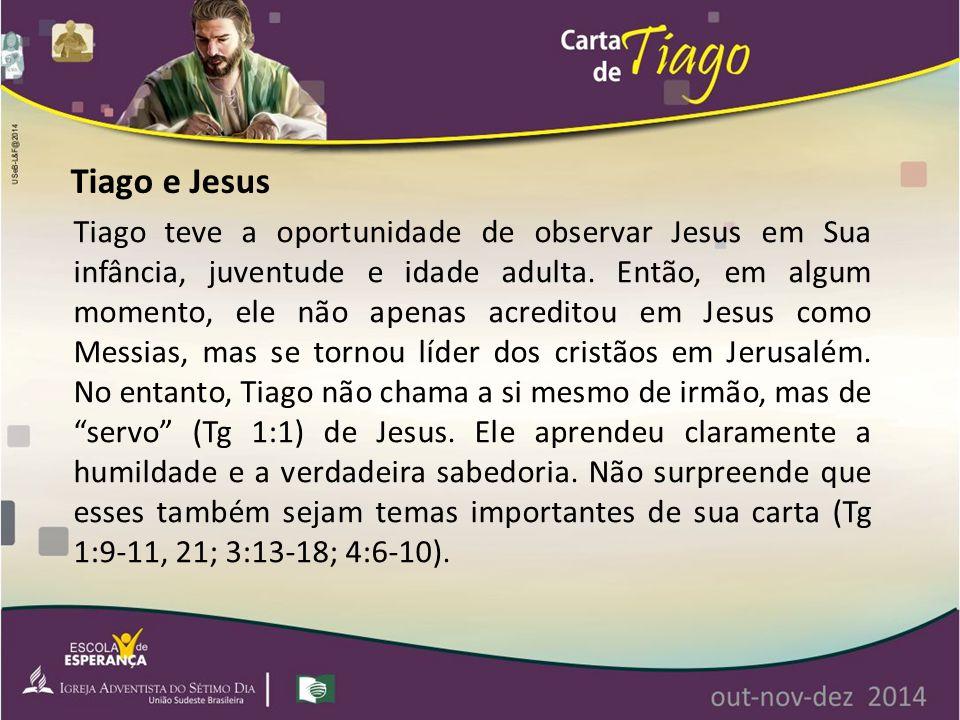 Tiago e Jesus