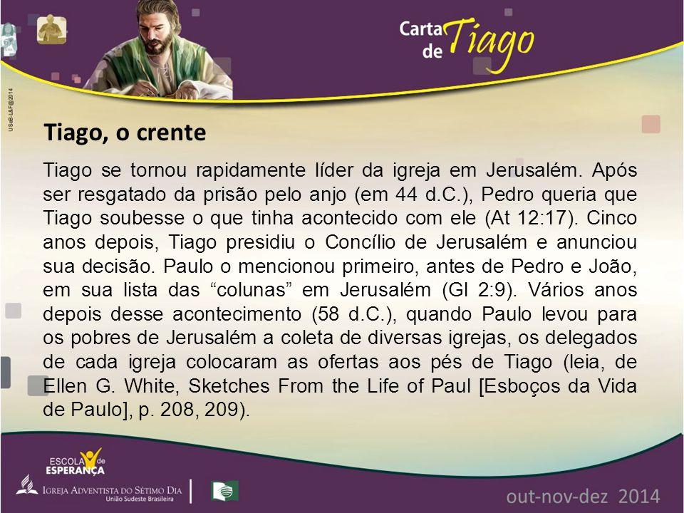 Tiago, o crente