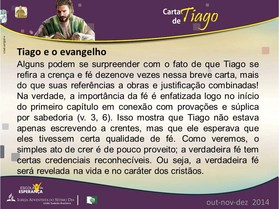 Tiago e o evangelho