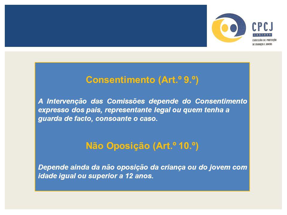 Consentimento (Art.º 9.º)