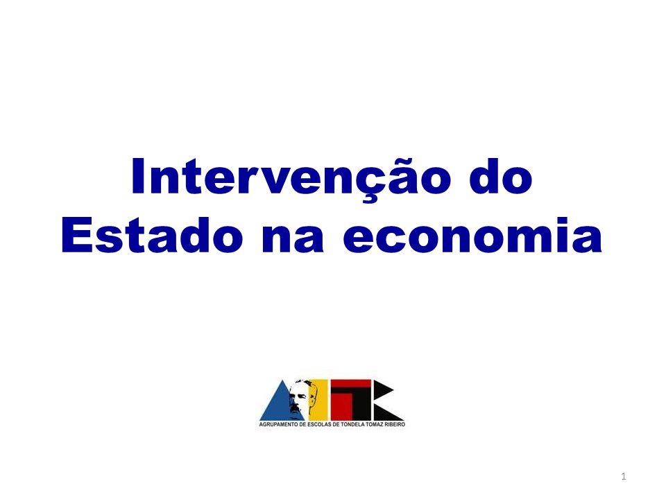 Intervenção do Estado na economia