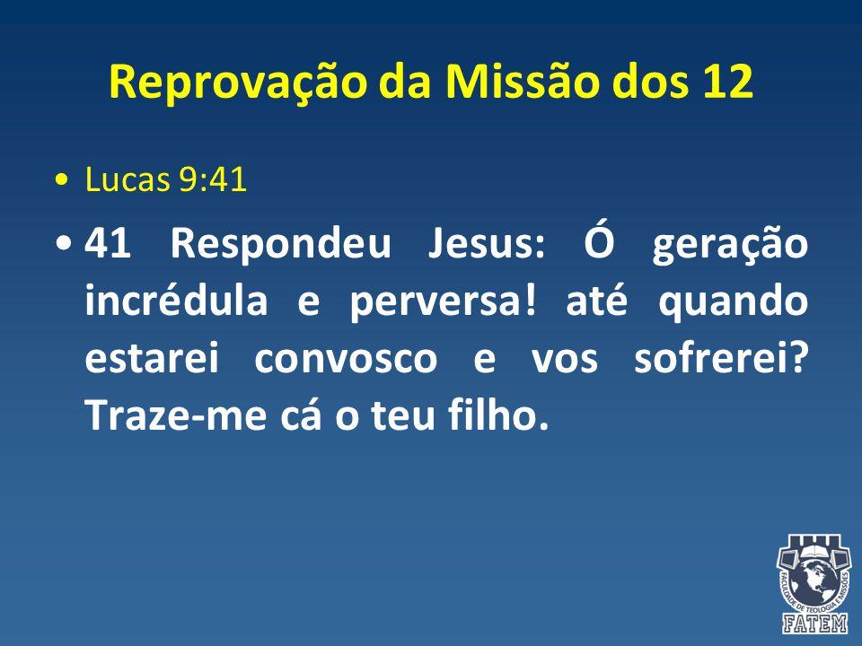 Reprovação da Missão dos 12