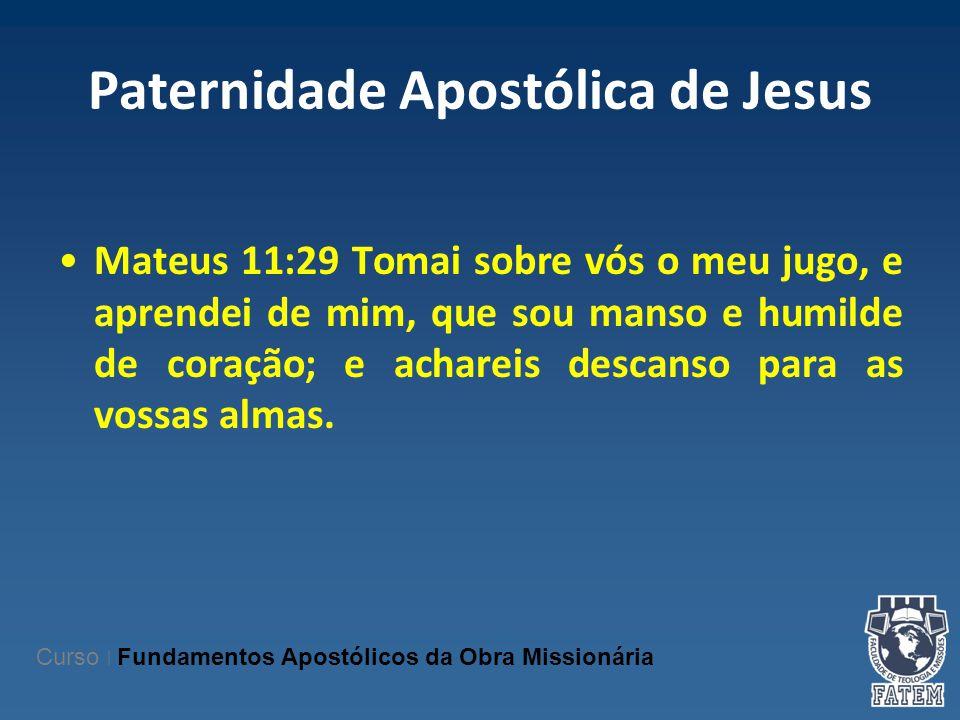 Paternidade Apostólica de Jesus