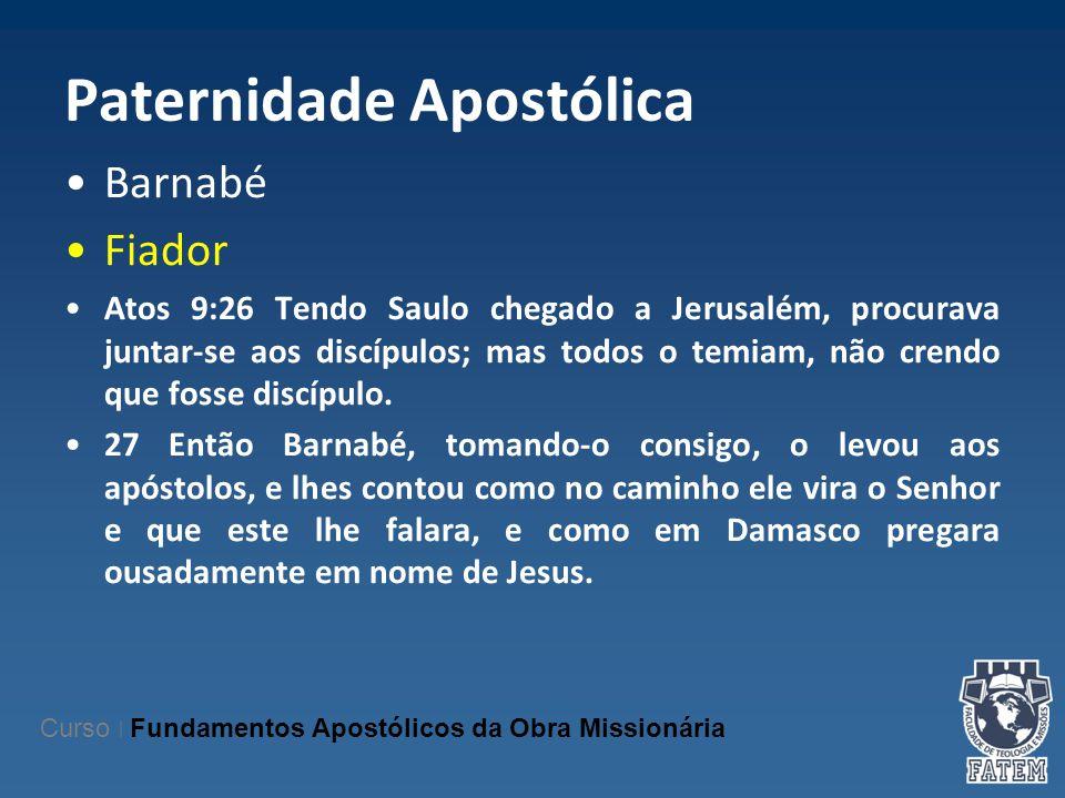 Paternidade Apostólica