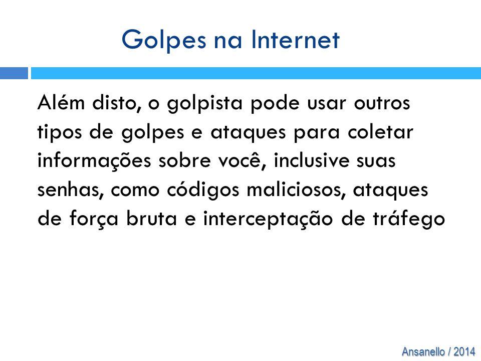 Golpes na Internet