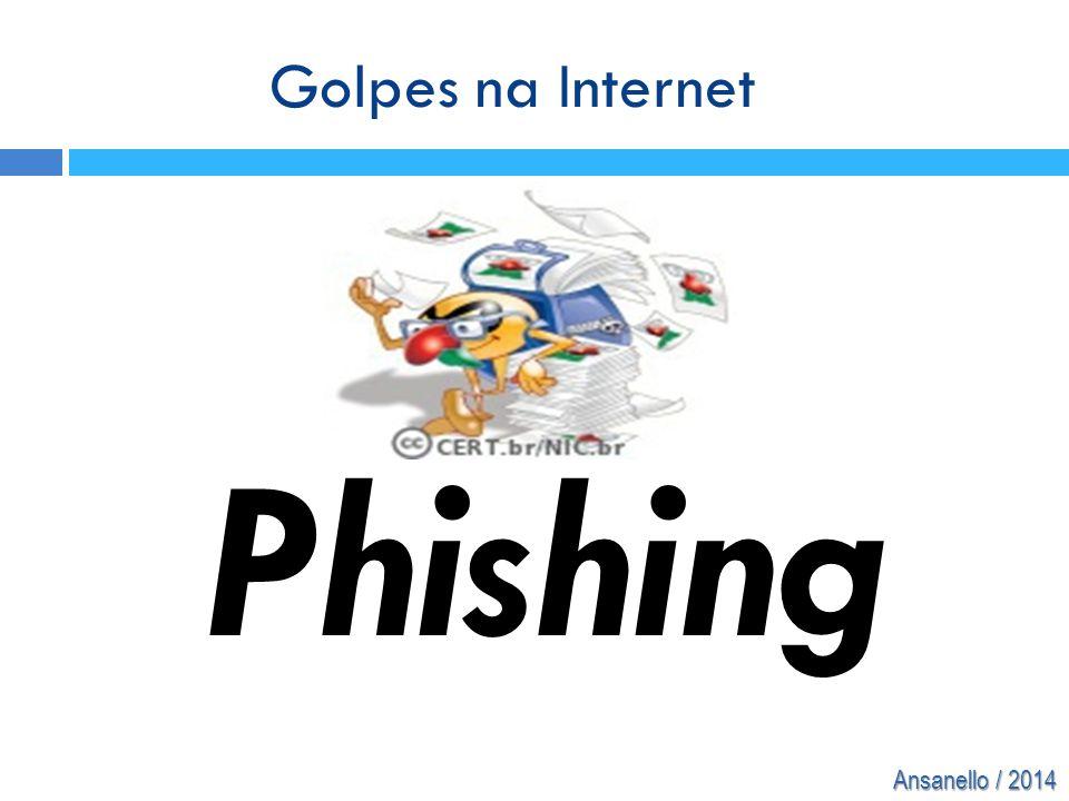 Golpes na Internet Phishing