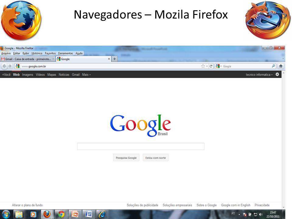 Navegadores – Mozila Firefox