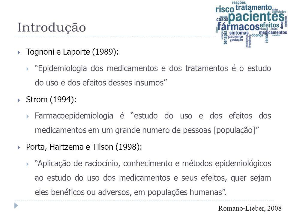 Introdução Tognoni e Laporte (1989):