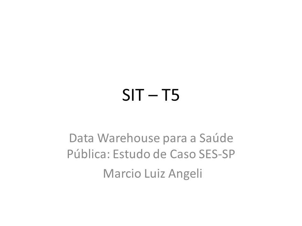 Data Warehouse para a Saúde Pública: Estudo de Caso SES-SP
