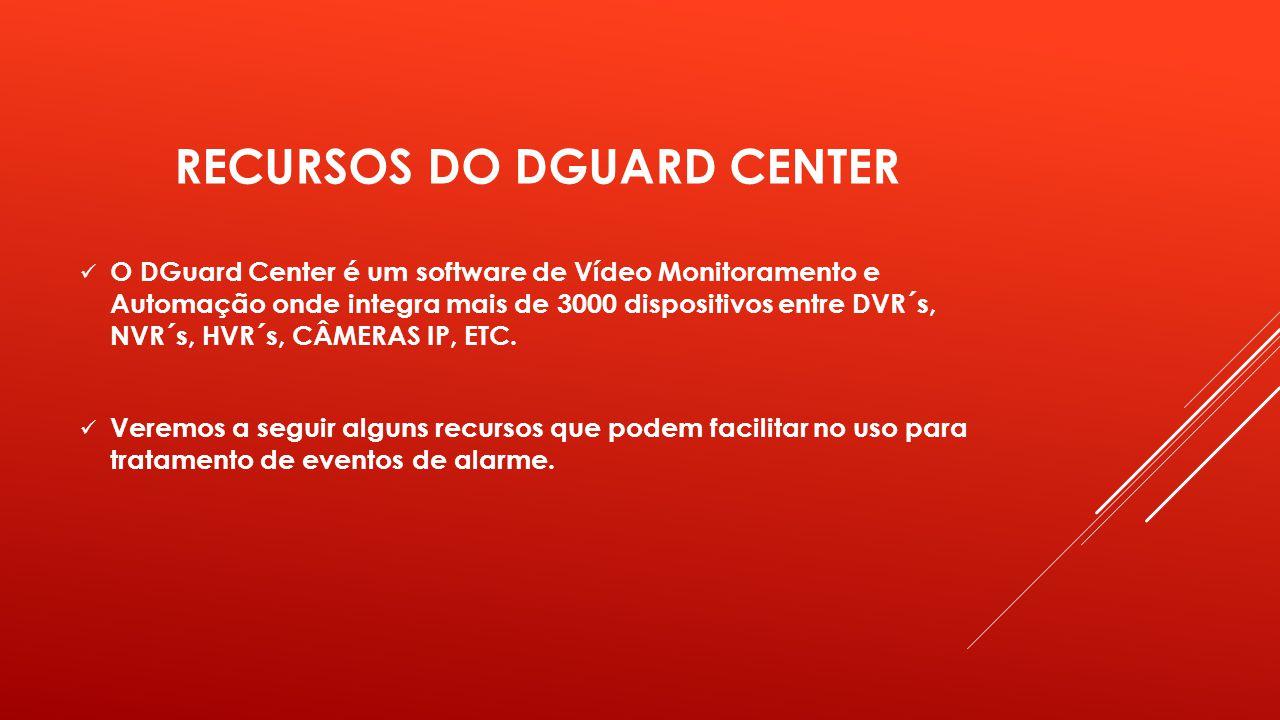 RECURSOS DO DGUARD CENTER