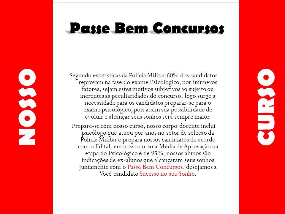 CURSO NOSSO Passe Bem Concursos