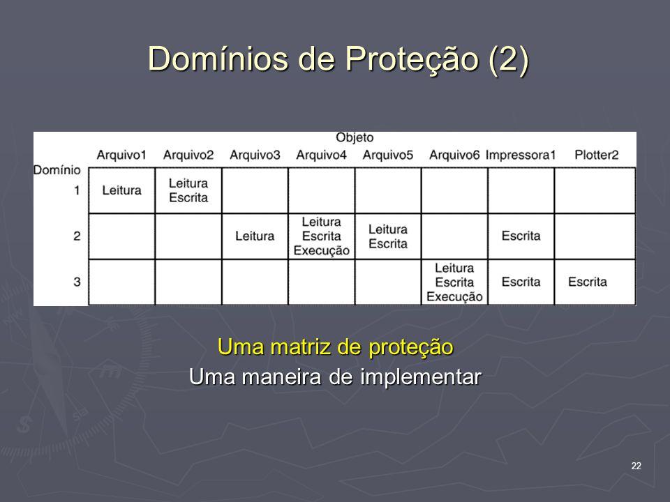 Domínios de Proteção (2)