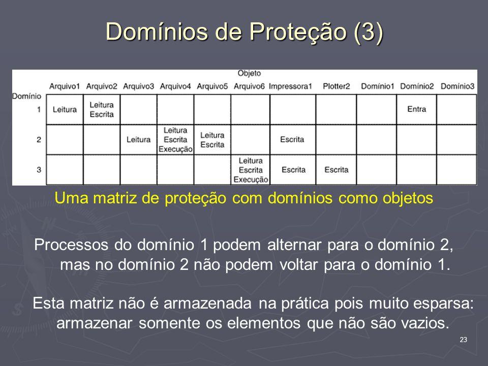 Domínios de Proteção (3)