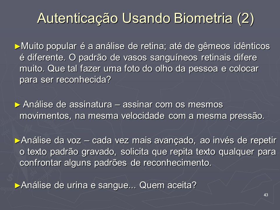 Autenticação Usando Biometria (2)