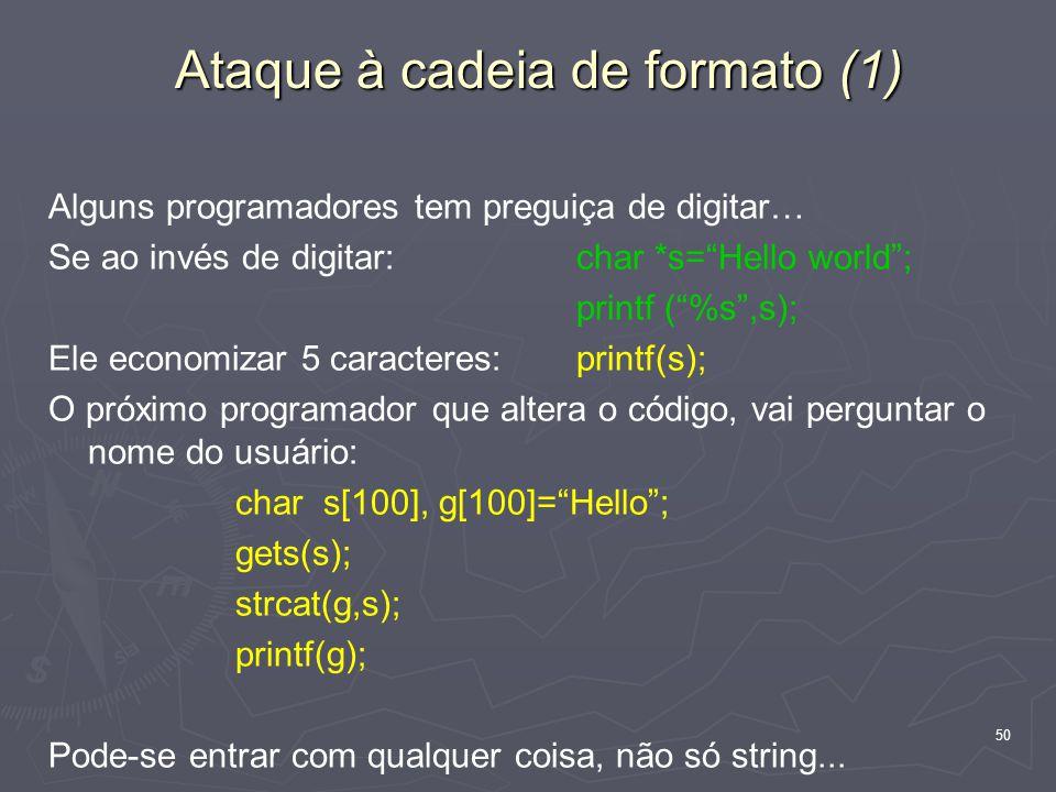 Ataque à cadeia de formato (1)